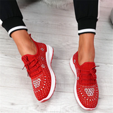 mokashoes Studded Knit Sneakers