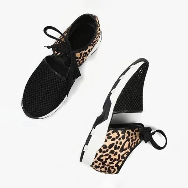 Mokoshoes Women Fabric Lace-Up Driving Sneakers