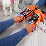 mokashoes Summer Women Sock Sneakers