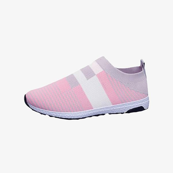 Mokashoes Women's Walking Breathable Light Knit Sneakers