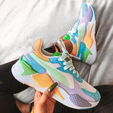 Mokashoes Multicolor Contrast Fashion Sneakers