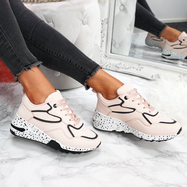 Mokashoes Synthetic Material Chunky Sneakers