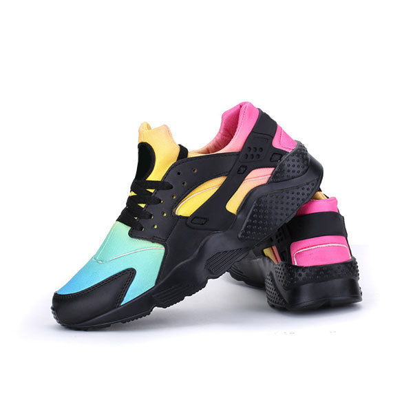 Mokashoes Multicolor Lace-Up Sneakers