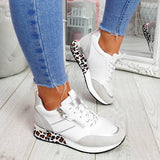 Mokashoes Synthetic Material Animal Print Sneakers