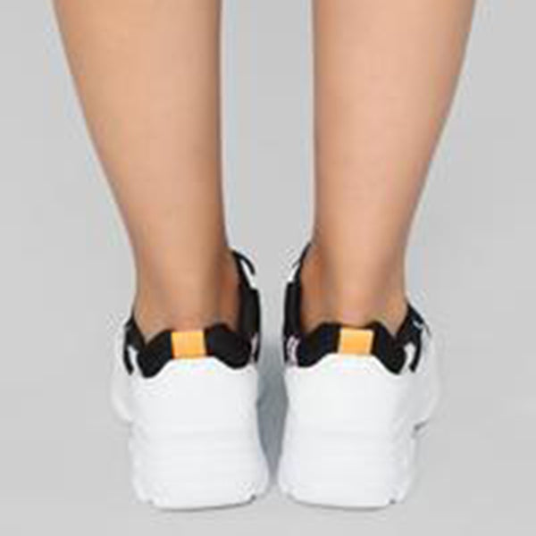 Mokashoes Metallic Detail Chunky Sneakers
