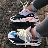 Mokashoes Color Block Chunky Sneakers