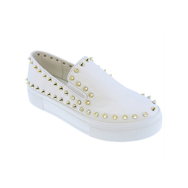 Mokashoes Faux Leather Slip-On Sneakers