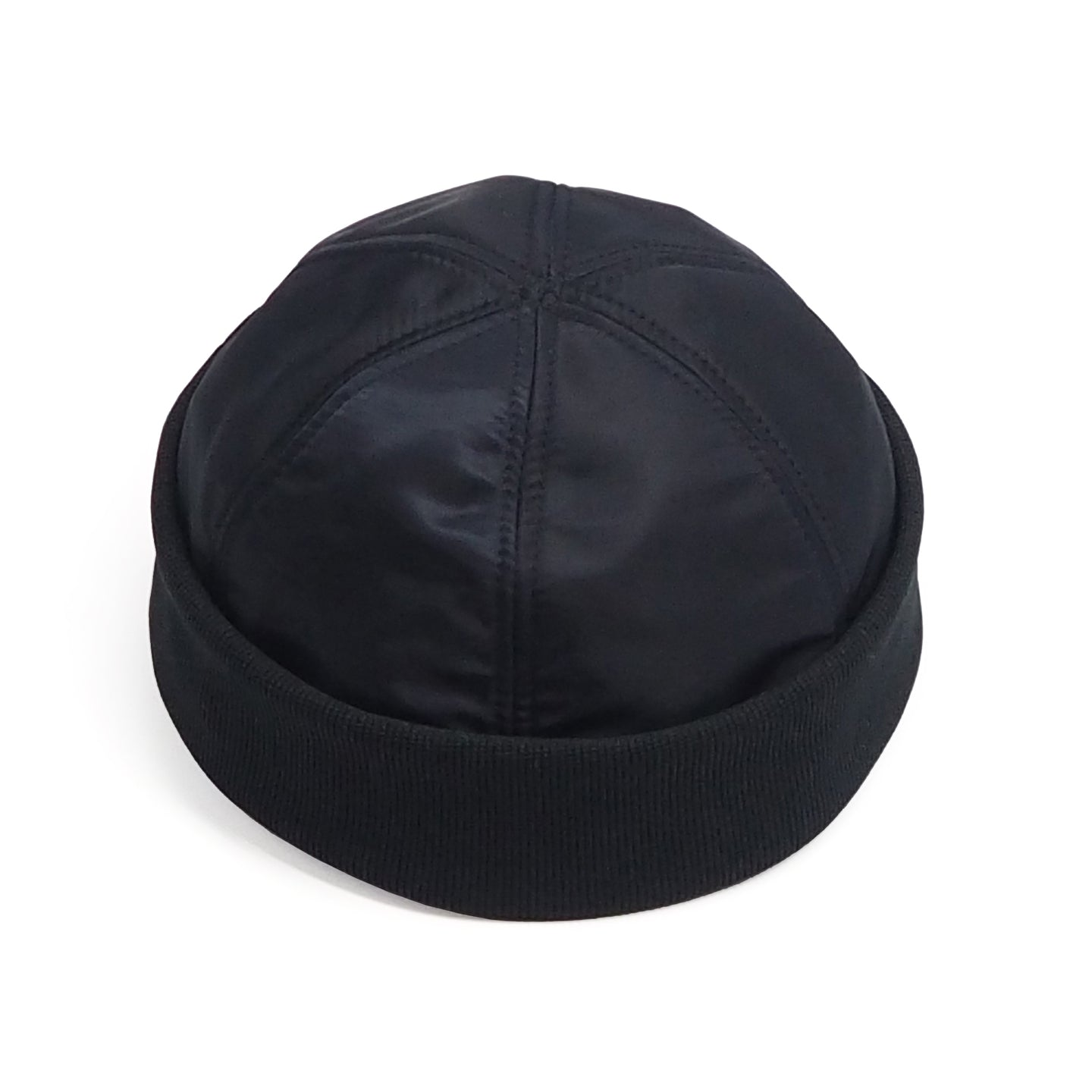 NEW - 6 Panel Watch Cap // MA-1 Flight Satin