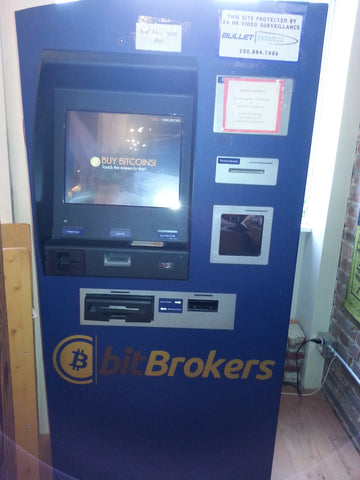 Bitcoin alternative currency ATM machine