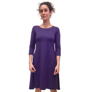 BLD 3/4 Sleeve Dress W Bamboo