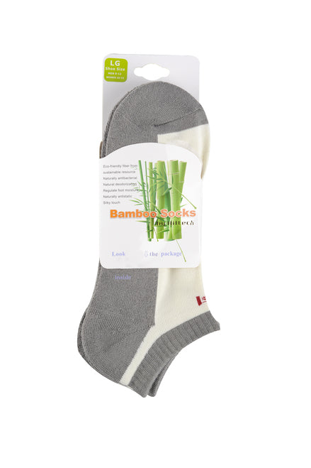 Bamboo ankle socks in a pack