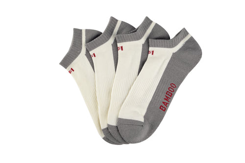 four thick bamboo socks