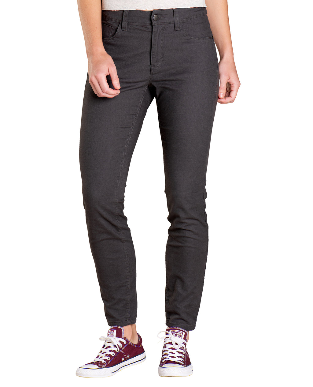 Skinny Fit Pants with 5 pockets.