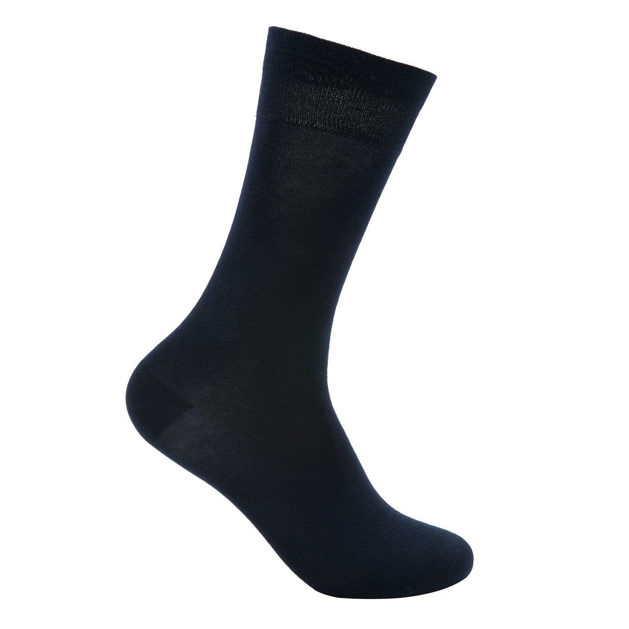 Bamboo dress socks in black