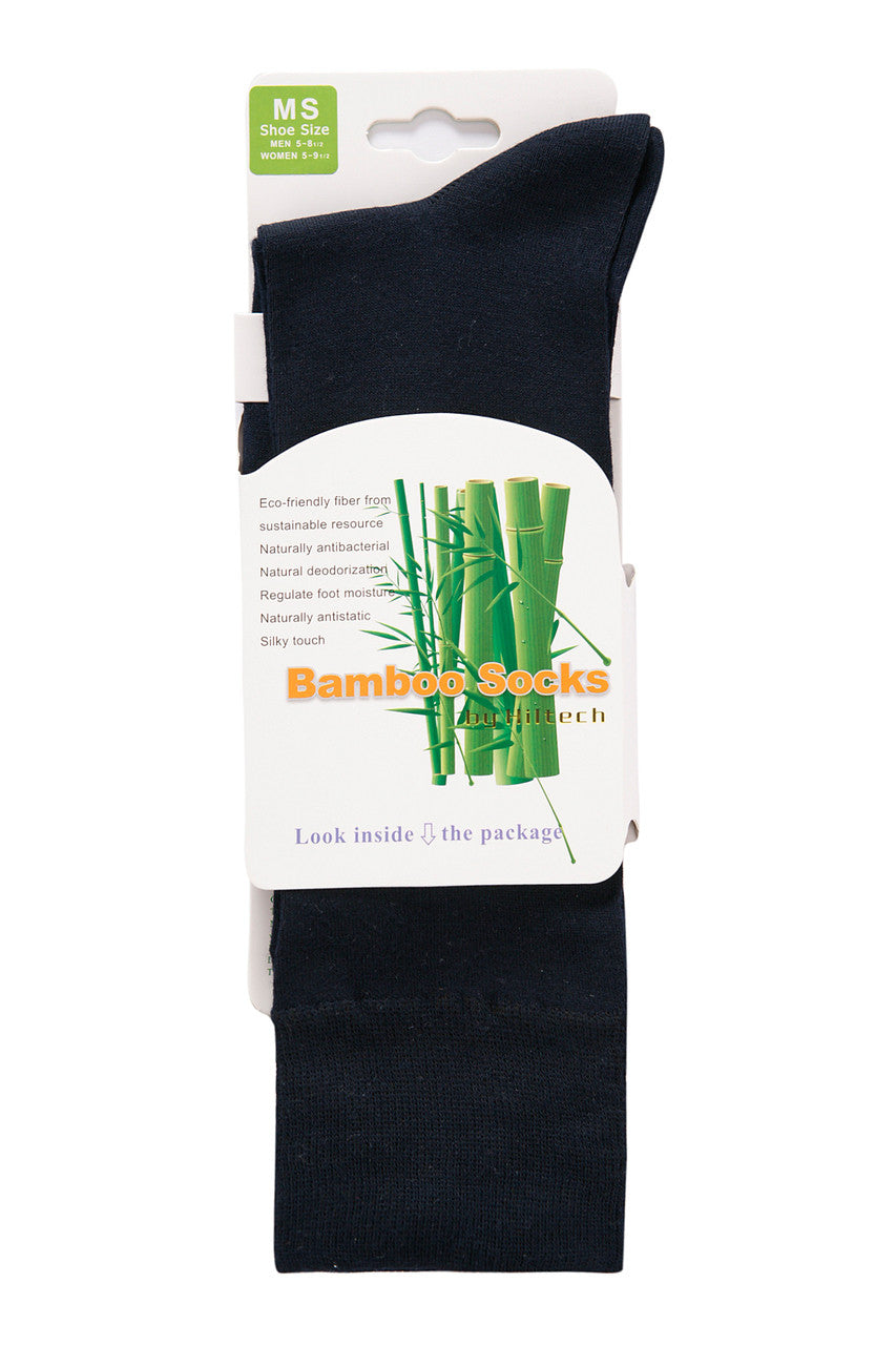 Bamboo dress socks in a pair