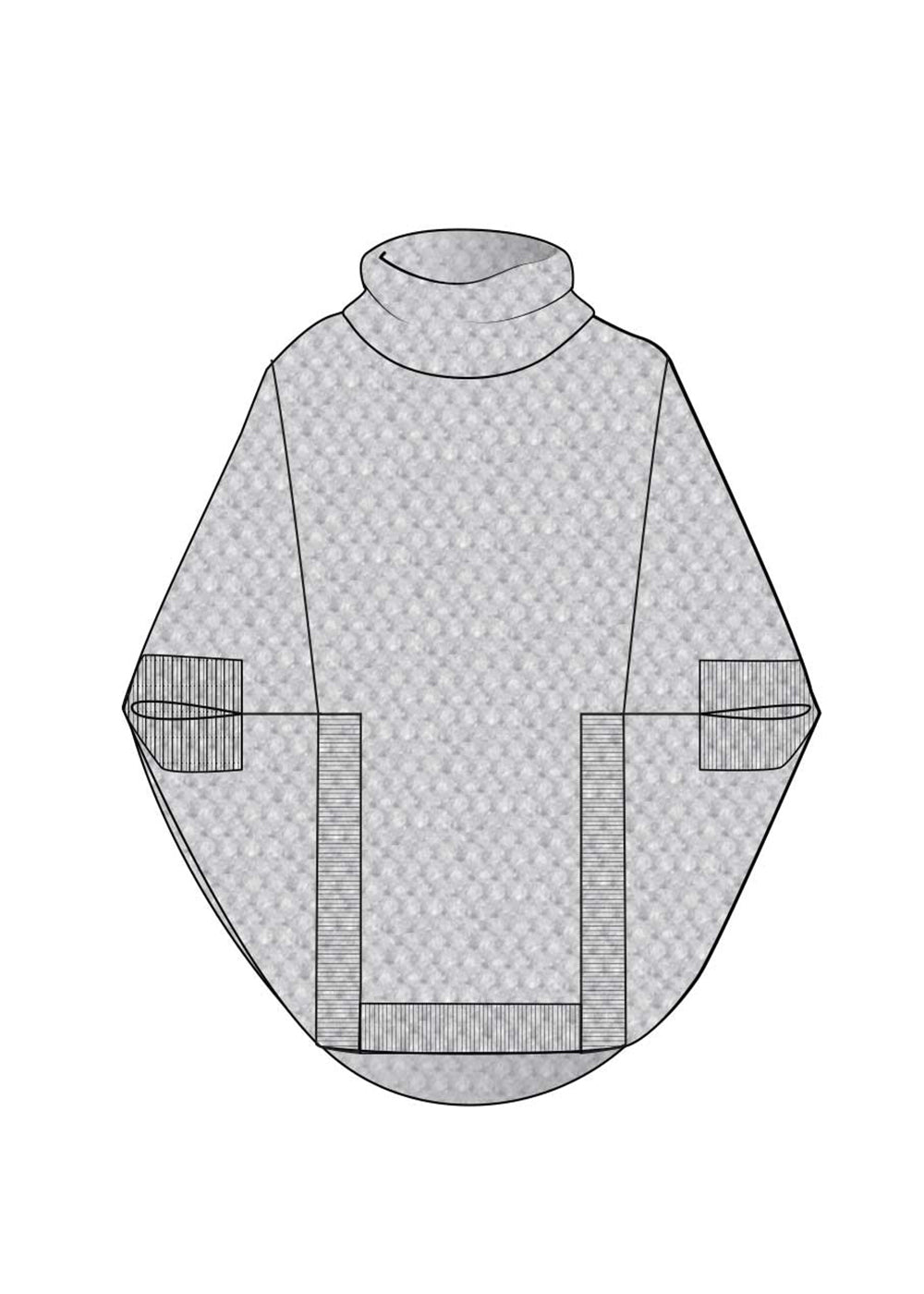 Nomads Hemp Wear Moonlight Poncho