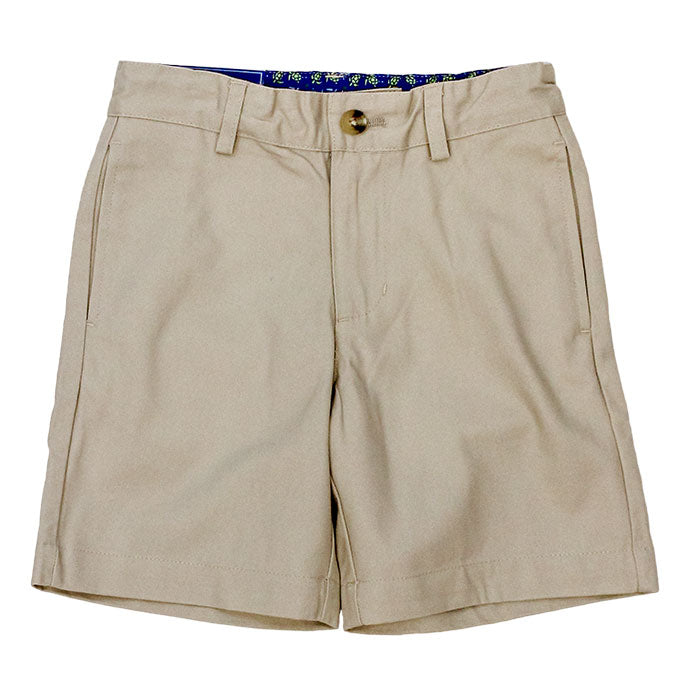 Bailey Boys Pete Short-Khaki Twill