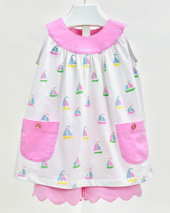 Ishtex Sailboat Short Set