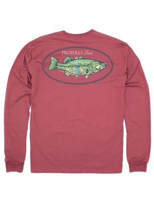 Properly Tied Bass Long Sleeve Tee