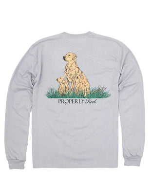 Properly Tied Dog Days Long Sleeve Tee