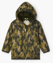 Load image into Gallery viewer, Hatley Forest Camo Microfiber Rain Jacket