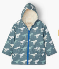 Load image into Gallery viewer, T-Rex Sherpa Lined Colour Changing Splash Jacket
