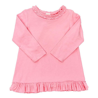Medium Pink Knit-Betsy Top