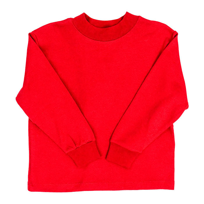 Bailey Boys Red Knit-Long Sleeve T-Shirt
