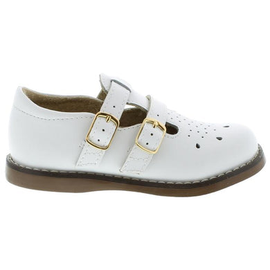 Footmates Danielle English Sandal - White