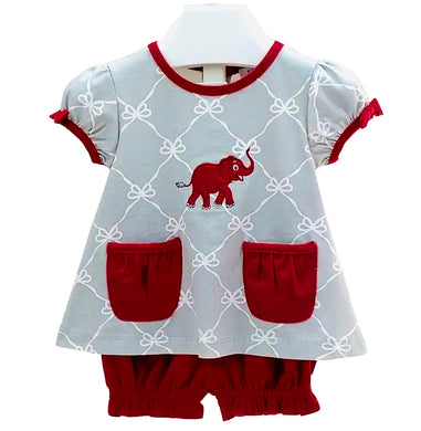 Elephant Bloomer Set