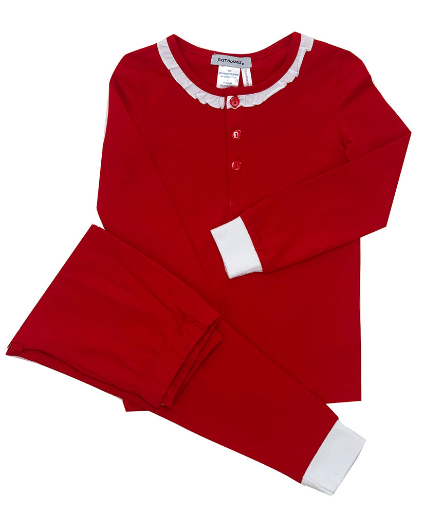 Ishtex Classic Red Lounge Wear Set