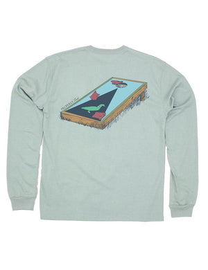 Properly Tied Corn-hole Long Sleeve Tee
