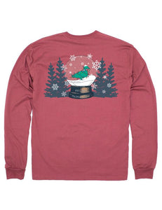 Properly Tied Snowglobe Long Sleeve Tee