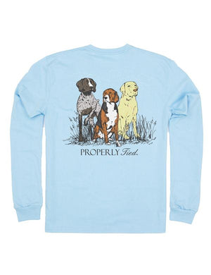 Properly Tied Triple Dog Long Sleeve Tee