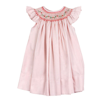 Bailey Boys Smocked Pink Vine on Pink-Bishop Dress