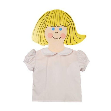 Short Sleeve Piped Blouse - Sikes Children's Shoe Store