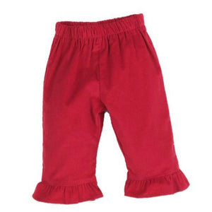 Ruffle Pant - Sikes Children's Shoe Store