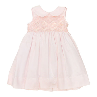 Bailey Boys Smocked Pastels Dress on Pink