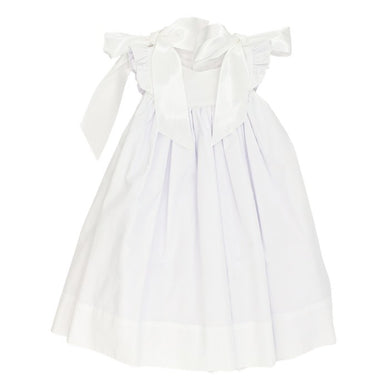 Bailey Boys White with Ribbons-Float Dress