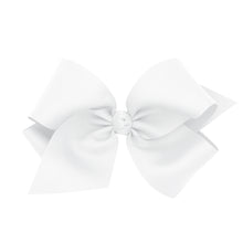 Load image into Gallery viewer, Wee Ones Colossal Classic Grosgrain Hair Bow on a Barrette