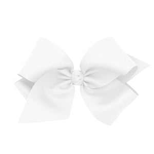 Wee Ones Colossal Classic Grosgrain Hair Bow on a Barrette