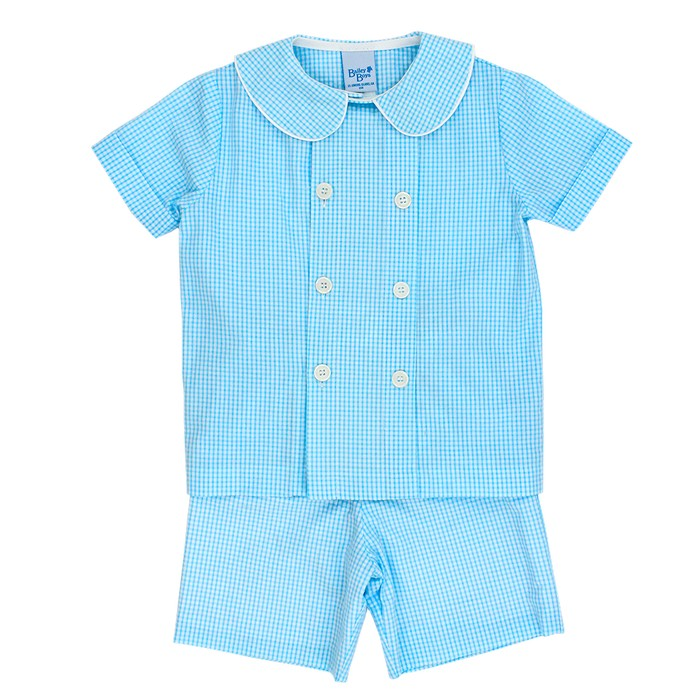 Bailey Boys Seersucker Short Set