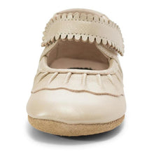 Load image into Gallery viewer, Livie & Luca Ruche Mary Jane Crib Shoe