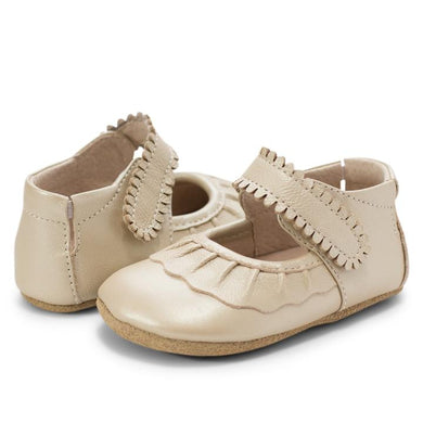 Livie & Luca Ruche Mary Jane Crib Shoe