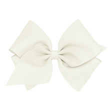 Load image into Gallery viewer, Wee Ones Mini King Classic Grosgrain Hair Bow On Pinch Clip