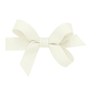 Wee Ones Baby Classic Grosgrain Hair Bow On Pinch Clip