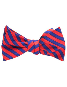 Properly Tied Stripe Bowtie
