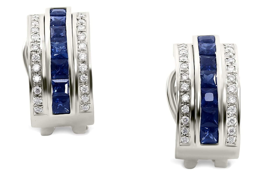 jewelry diamond earrings platinum