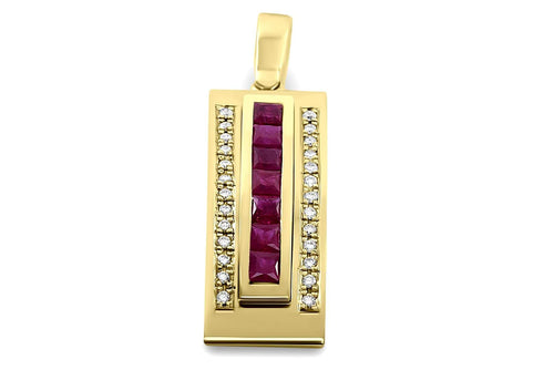 jewelry diamond pendant necklace yellow gold