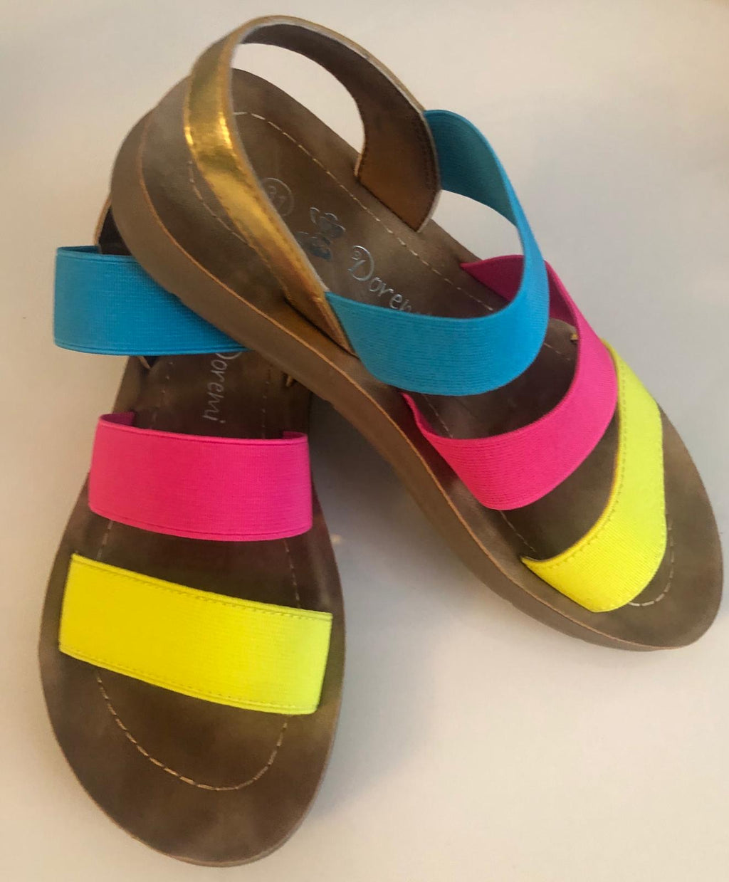 Girls Rainbow sandals